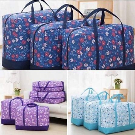Set 3 túi đựng chăn màn quần áo (Giao màu ngẫu nhiên)
