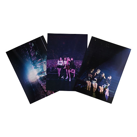 Blackpink YG Official Goods Chapter1 Lenticular Poster Set