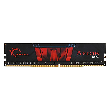 RAM DDR4 Gskill 8GB/2400MHz F4-2400C17S-8GIS Tản Nhiệt Lá Aegis - Hàng Chính Hãng