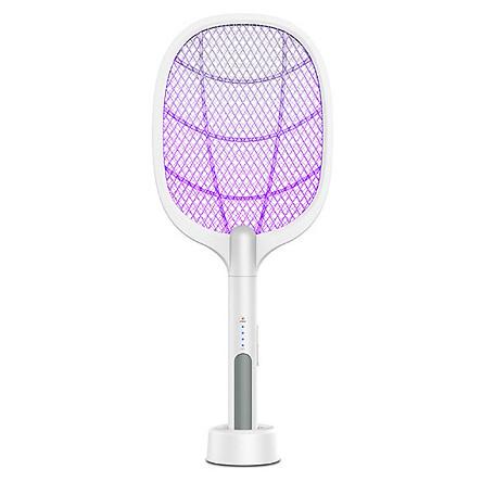 Quạt Vợt Bắt Muỗi Kiêm Đèn Led Bắt Muỗi, Tích Hợp Cổng Sạc USB Dung Lượng Pin 1200mAh Kèm Móc Khóa Bảo Vệ Xanh An Toàn Khi Sử Dụng - [Vợt Muỗi,Dụng Cụ Bắt Muỗi Đèn Bắt Muỗi]