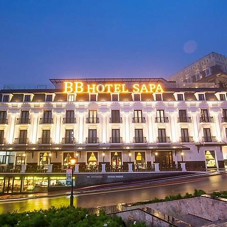 BB Hotel Sapa 4* - Gói 2N1Đ Gồm Bữa Trưa/Tối, Buffet Sáng, 02 Ly Cocktail, Ngay Trung Tâm, Gần Nhà Thờ Đá