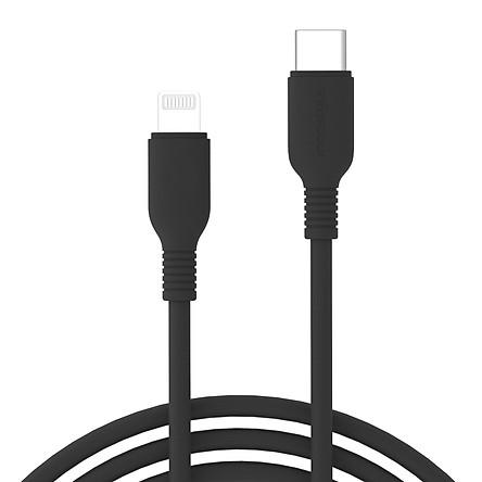 Dây Cáp Sạc USB-C to Lightning Chuẩn MFi Cho iPhone Innostyle Jazzy - Hàng Chính Hãng