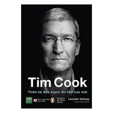 Tim Cook - Thiên Tài Đưa Apple Lên Tầm Cao Mới(Tặng Notebook tự thiết kế)