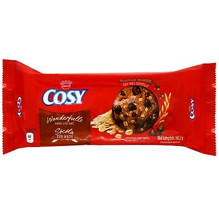 [Chỉ Giao HCM] - Big C - Bánh Cosy Wonderfull Oats Double Choco 163.2g  - 58206