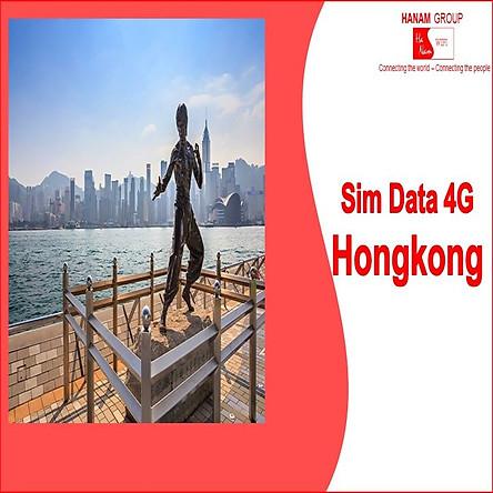 Sim Data 4G Hong Kong Không Giới Hạn Dung Lượng