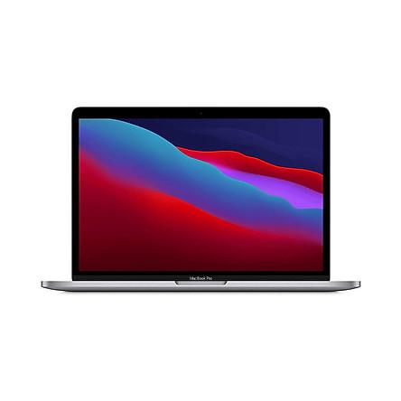 Apple Macbook Pro 13 inch (Apple M1 chip with 8‑core CPU and 8‑core GPU, 256GB SSD-Space Grey)-MYD82SA/A - Hàng chính hãng