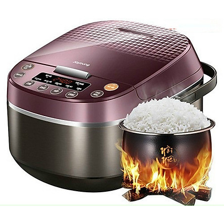 Nồi cơm điện cơm ngon như nấu bếp củi 1.8L, Joyoung lòng niêu, công suất 860W, Hàng chính hãng