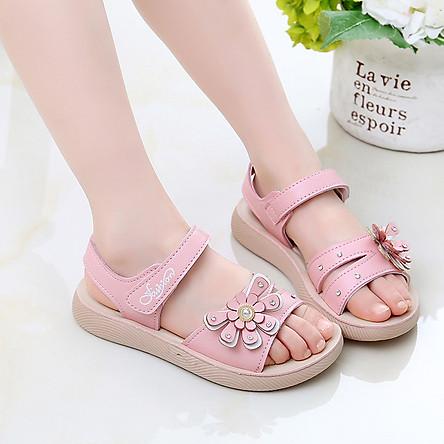 Dép sandal cho bé gái công chúa dành cho bé từ 3 -12 tuổi D07