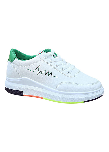 Giày Sneaker Nữ Tăng Chiều Cao GTCC01 - Xanh
