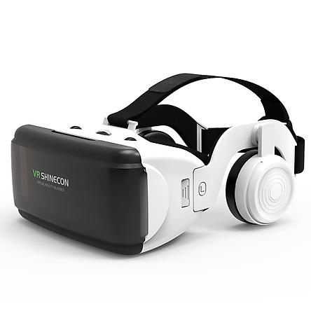 Kính thực tế ảo Vr Shinecon V6 - kèm headphone - Hàng nhập khẩu