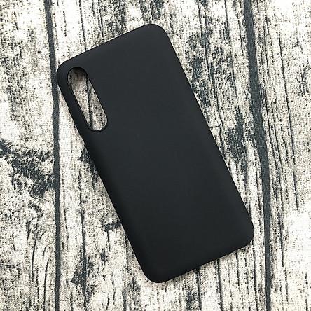 Ốp lưng cho Vsmart Live chất liệu silicon dẻo màu đen cao cấp chống bám vân tay