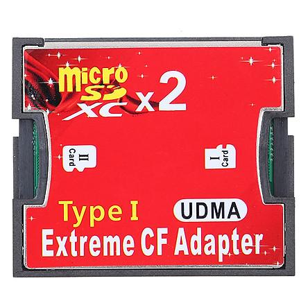 Card Chuyển Đổi Micro SD/TF Sang CF Hỗ Trợ SDXC