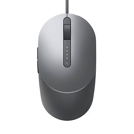 Chuột không dây máy tính Kit - Dell Laser Wired Mouse MS3220 SnP - Hàng Chính Hãng