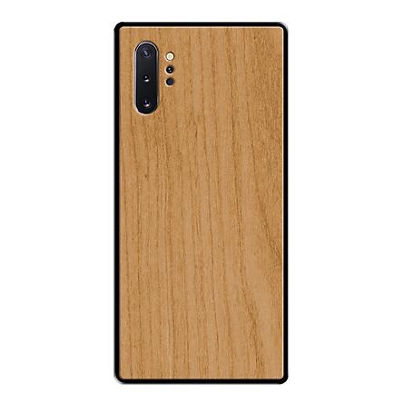 Ốp Lưng GỖ Tự Nhiên Cho Điện Thoại Samsung Galaxy Note 10 Plus - Cao Cấp, Nhẹ, Bền, Đẹp - 05066 - Hàng Chính Hãng