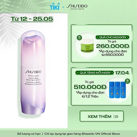 Tinh Chất Dưỡng Da Shiseido White Lucent Illuminating Micro-Spot Serum 30ml