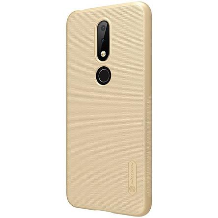 Ốp lưng sần Nokia 6.1 Plus / Nokia X6 2018 Nillkin (Đính kèm 1 miếng dán màn hình từ tính hoặc giá đỡ) - Hàng chính hãng