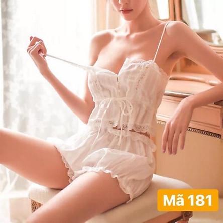 Bộ ngủ sexy SX181 - MINHTRANG.24199
