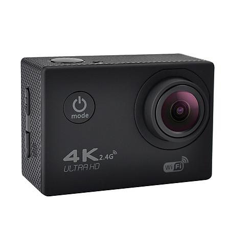 Camera Thể Thao Mini Chống Nước Góc Rộng Màn Hình LCD F60R 4K (30m) (120 Độ) (HD1080P)