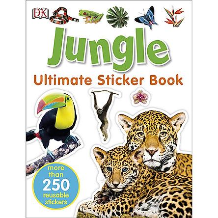 Ultimate Sticker Book Jungle