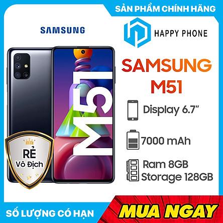 Điện Thoại Samsung Galaxy M51 (8GB/128GB) - Hàng Chính Hãng - Đã kích hoạt bảo hành điện tử