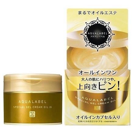 Kem Dưỡng trắng da ngừa lão hóa Shiseido Aqualabel 5 in 1