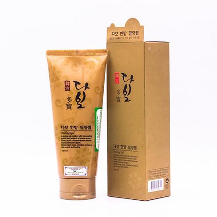 Gel tẩy tế bào chết cho da mặt Hàn Quốc Dabo (180ml) – Hàng Chính Hãng