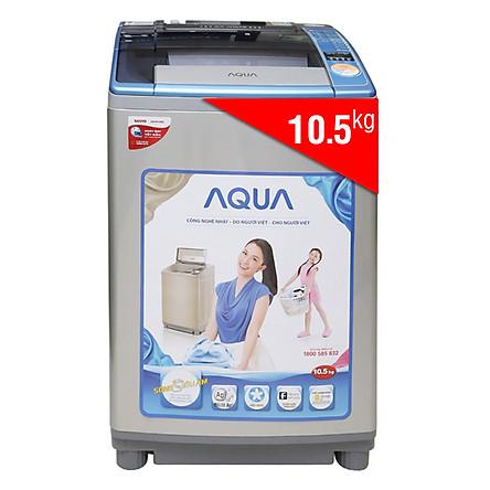 Máy Giặt Cửa Trên AQUA AQW-U105ZT (10.5 Kg) - Hàng Chính Hãng