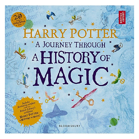 Harry Potter: A Journey Through A History of Magic (English Book)