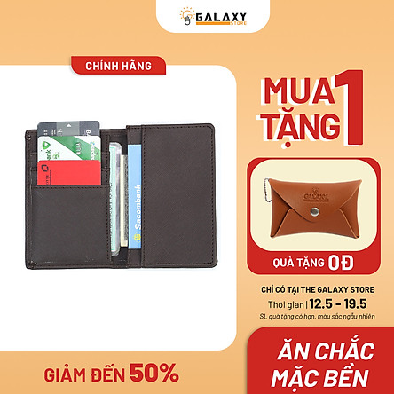Ví Bóp Nam Nhỏ Gọn Nhiều Ngăn Để Thẻ CMND Galaxy Store GVMB02