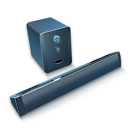 Loa Nghe Nhạc Bluetooth Loa Thanh Gaming Soundbar SADA 236D Kèm Cục BASS Siêu Trầm  Cho Máy Vi Tính PC, Laptop, Tivi