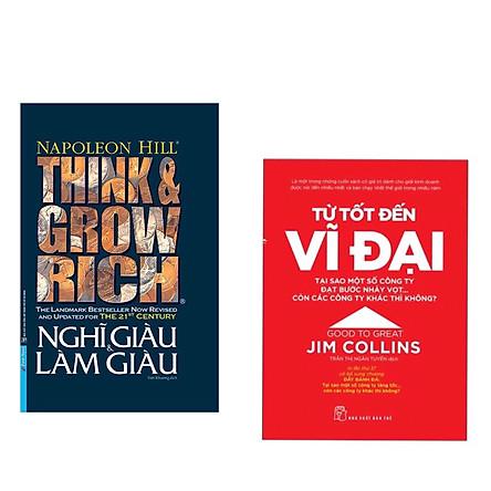 Combo 2 cuốn : Từ Tốt Đến Vĩ Đại - Jim Collins + Think And Grow Rich - Nghĩ Giàu Và Làm Giàu