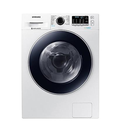 Máy Giặt Cửa Trước Samsung Inverter WW90J54E0BW/SV (9kg) - Hàng Chính Hãng + Tặng bình đun siêu tốc