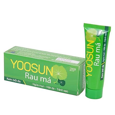 Kem bôi da ngăn ngừa mụn, giảm thâm Yoosun Rau Má