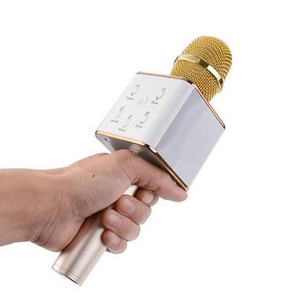 Micro hát Karaoke tích hợp Loa Bluetooth Q7