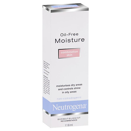 Neutrogena Oil-free Moisture Combination Skin Facial Moisturiser 118 mL