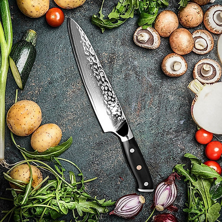 Dao nhà bếp XYJ thép VG10 Nhật - cán dao G10 cao cấp