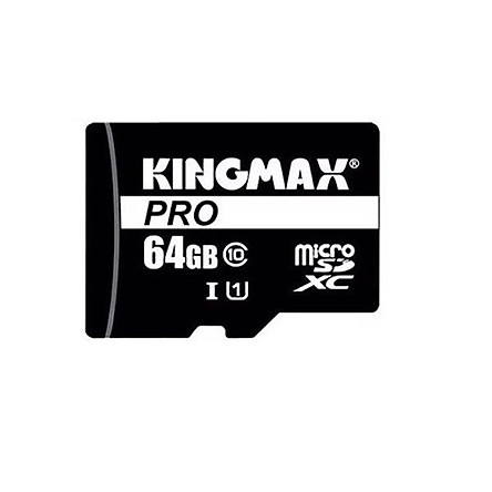 Thẻ Nhớ Micro SD Kingmax 64GB KMAX64GMCSDUHSP-1- Hàng Chính Hãng