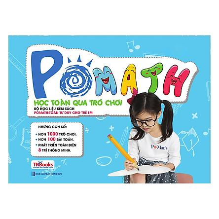 Bộ Học Liệu Kèm Sách POMath - Học Toán Qua Trò Chơi