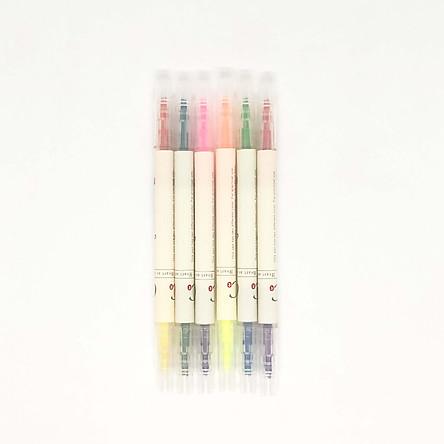 Bộ 6 Bút Highlight - 12 màu