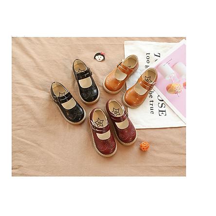 Giày da công chúa cho bé gái SD03