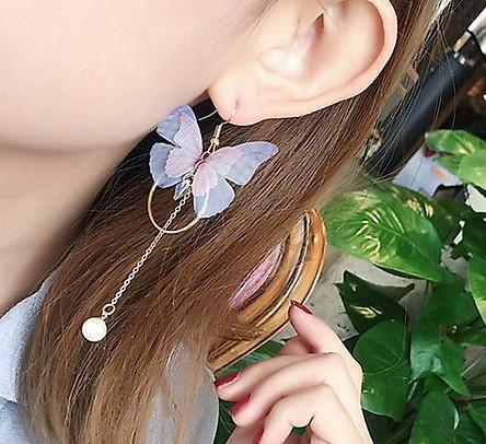 Bông tai cánh bướm nữ tính hot trend