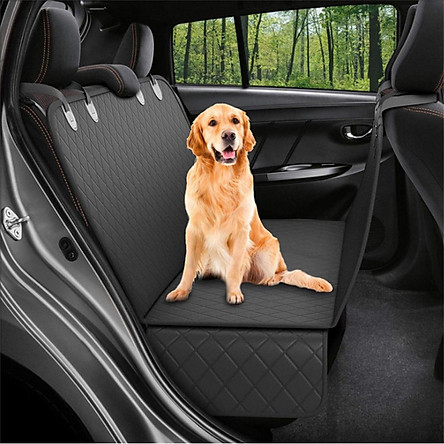 Dog Back Seat Car Cover Protector Waterproof Scratchproof Nonslip Hammock for Pet Against Dirt and Pet Hair Seat Covers