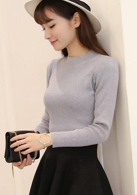 Áo len nữ ôm body