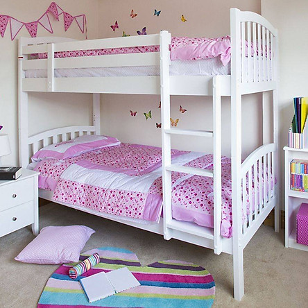 Giường Tầng Trẻ Em cao cấp A302, Trên 1m, Dưới 1m