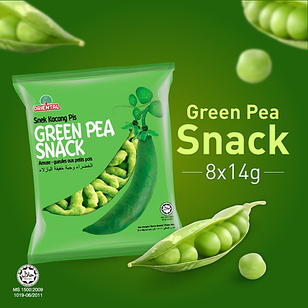 Snack Green Pea Oriental 112G (14G x 8 Gói)