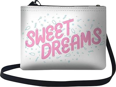 Túi Chéo Nữ In Hình Sweet Dreams  - TUTE174 (24 x 17 cm)