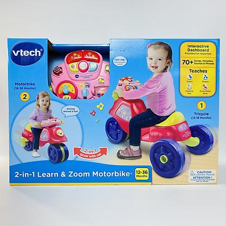 80-181750 2 in 1 Motorbike - Xe chòi chân 2in1 (hồng)
