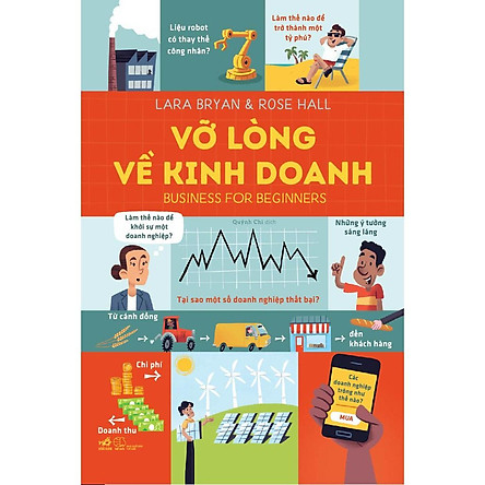 Sách - Vỡ lòng về kinh doanh - Business for beginners (Bìa cứng) (tặng kèm bookmark thiết kế)