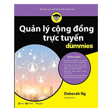 Quản Lý Cộng Đồng Trực Tuyến For Dummies - Tặng Kèm Sổ Tay