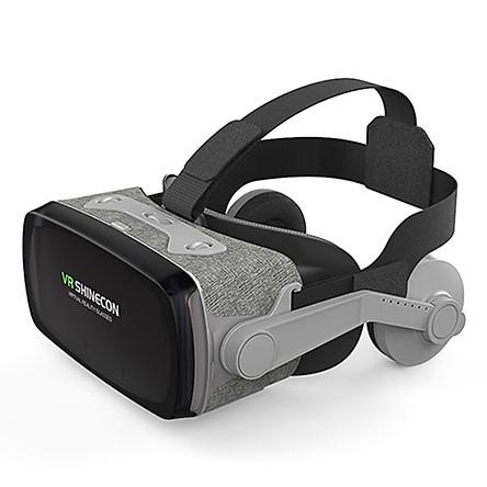 Kính thực tế ảo Shinecon VR G07E - Phiên bản năm 2019 - Thấu kính Bluelens (hàng nhập khẩu)